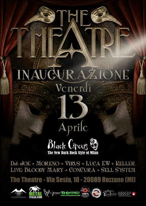 The theatre nuovo locale alternativo a milano heavy for Nuovo locale milano