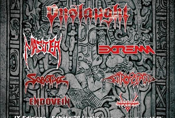 Sakahiter - Live In Montenegro Metal Fest