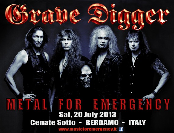 Grave Digger metal for emergency 2013