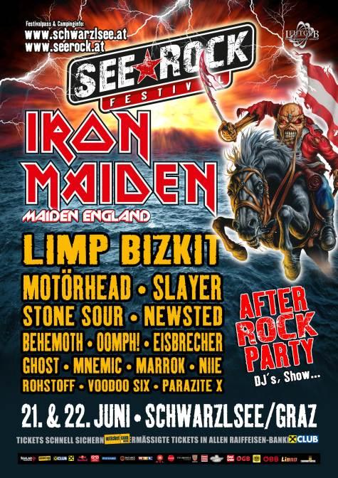iron maiden seerock2013