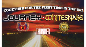 Journey / Whitesnake / Thunder live @ WEMBLEY ARENA (UK) 29/05/2013