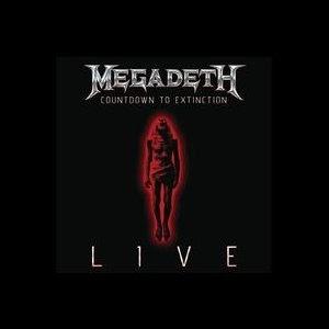 Megadeth - new live album cover