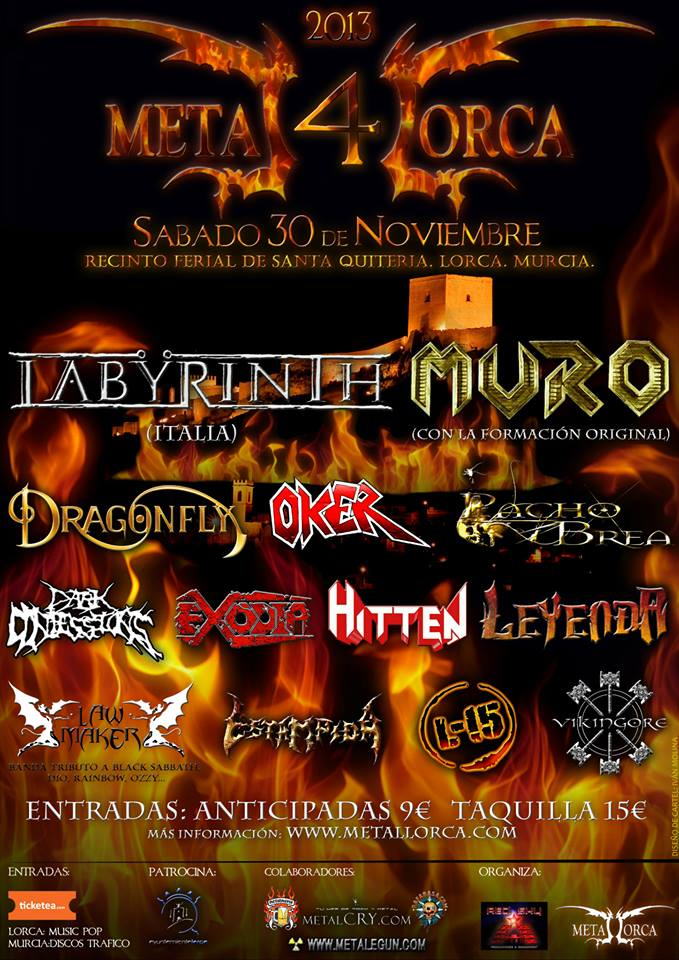 Metal Lorca 2013