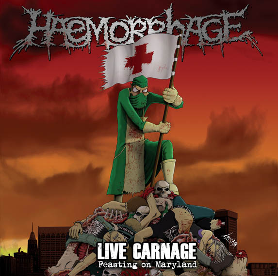 Live Carnage - Feasting On Maryland Album