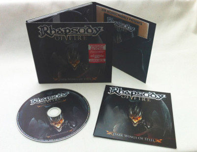 """Dark Wings Of Steel"" digipack limited edition"