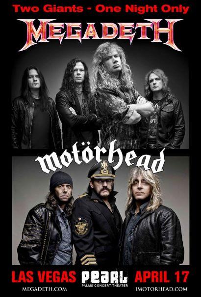 Megadeth e Motörhead