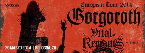 gorgoroth bologna flyer