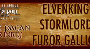 The Pagan Trinity: Elvenking + Stormlord + Furor Gallico @ Rock N Roll Arena 12-04-2014