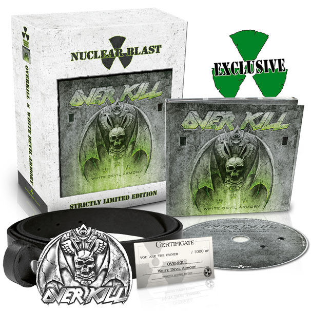 Overkill White Devil Armory box