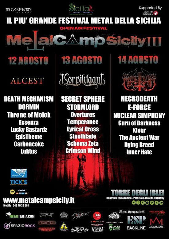 Metal Camp Sicily