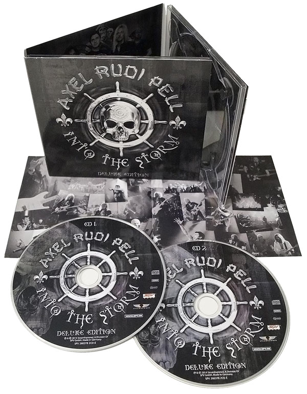 Axel Rudi Pell Into The Storm - Deluxe Edition