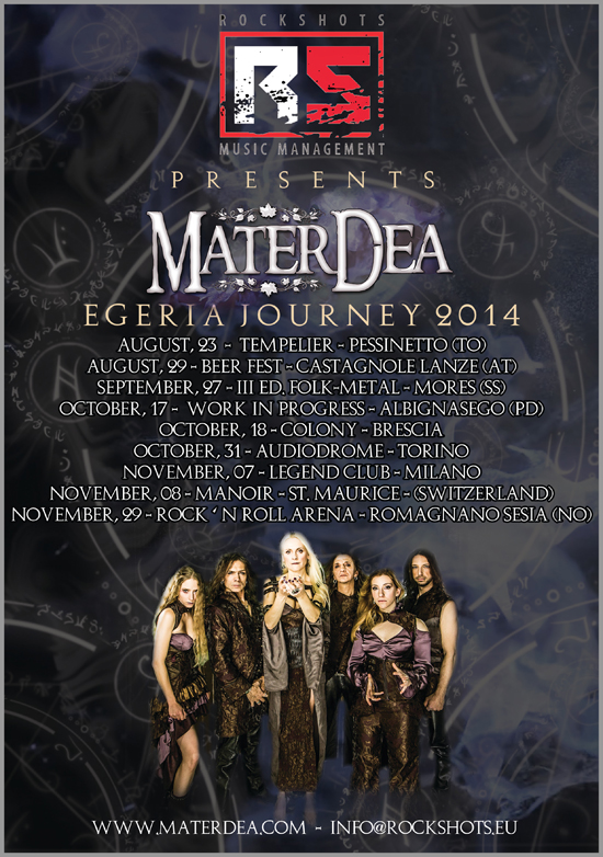 MaterDea Egeria Journey Tour 2014