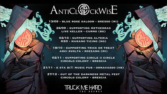 Anticlockwise gigs