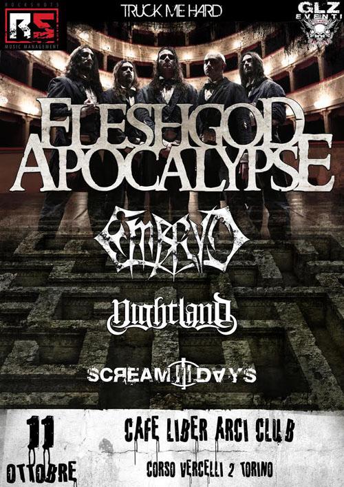 Fleshgod Apocalypse Torino