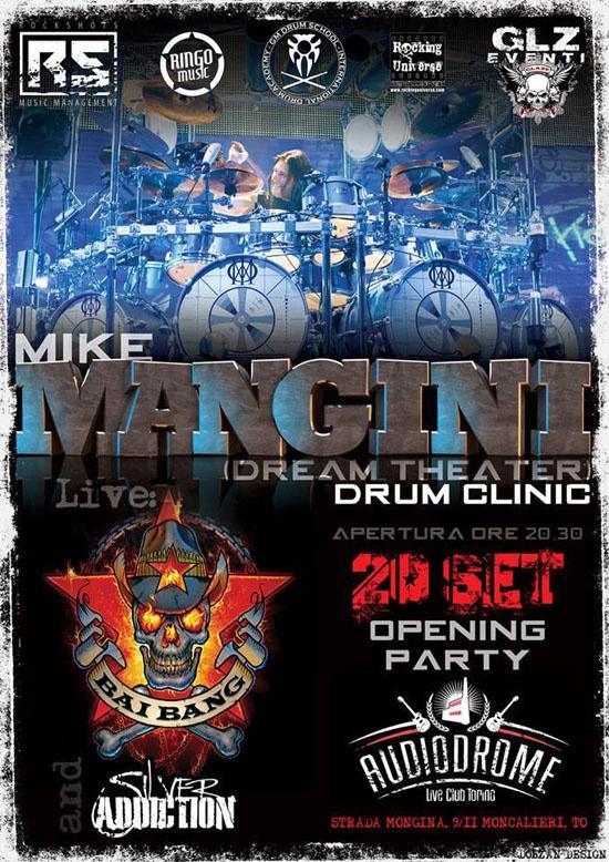 Mike Mangini Torino
