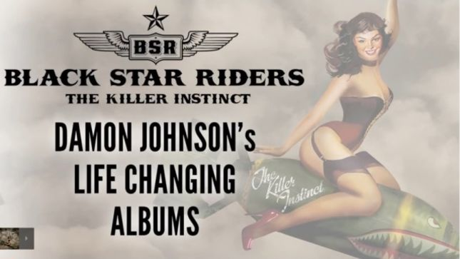 BLACK STAR RIDERS' Damon Johnson Talks About His Life Changing Albums; Video
