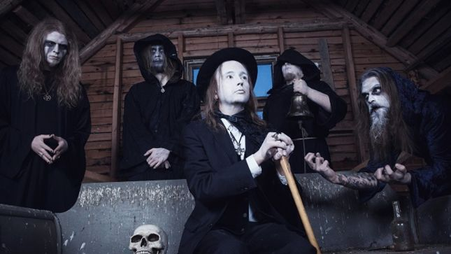Finland's FUNERARY BELL To Release Graveyard Séance EP In May