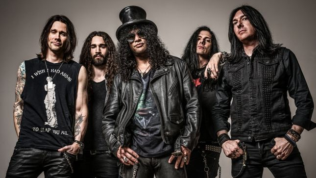 SLASH Featuring MYLES KENNEDY AND THE CONSPIRATORS Announce Additional Dates For US Tour