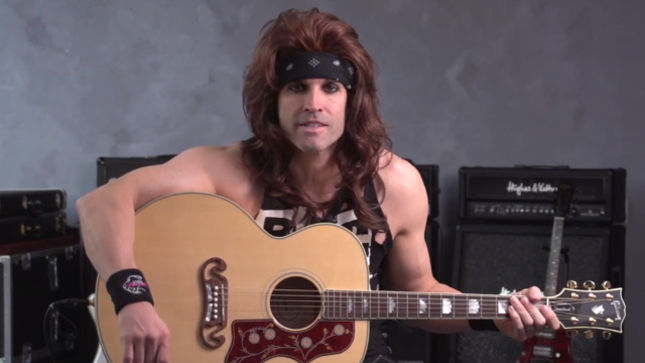 steel panther if you really really love me guitar lesson with satchel video heavy. Black Bedroom Furniture Sets. Home Design Ideas