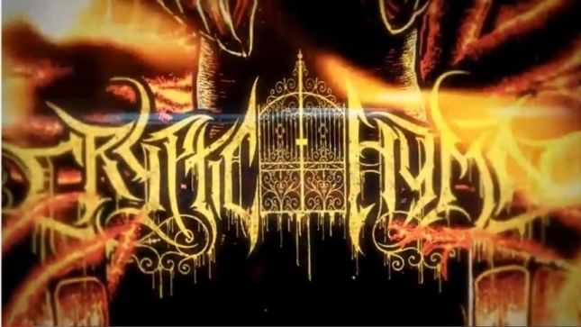 "CRYPTIC HYMN Streaming Lyric Video ""Revel In Disgust"""