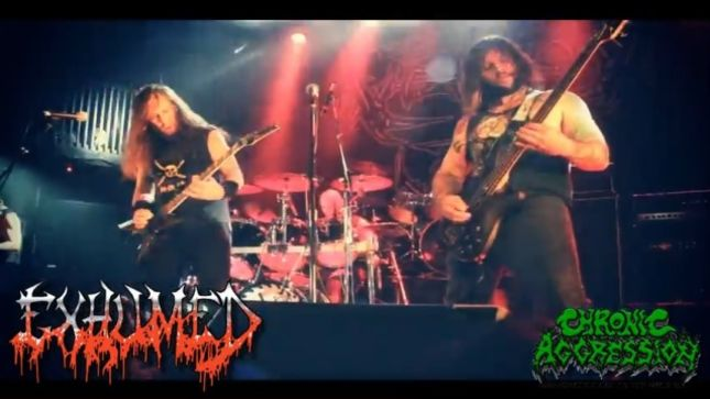 EXHUMED – Live Footage From Toronto Streaming
