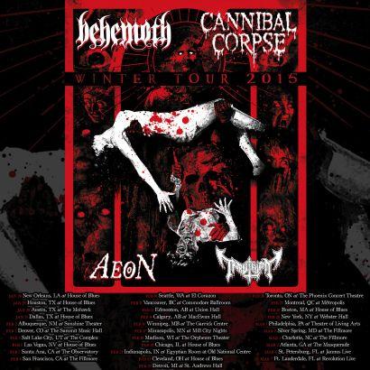 Behemoth Tour Dates