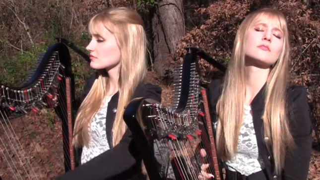 "Harp Twins CAMILLE AND KENNERLY Cover METALLICA's ""The Unforgiven""; Video Streaming"