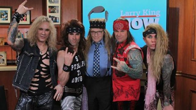 STEEL PANTHER Guest On Larry King Now; Video Streaming