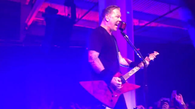 METALLICA Offer Free Download Of Salesforce Surprise Party Performance; Audio