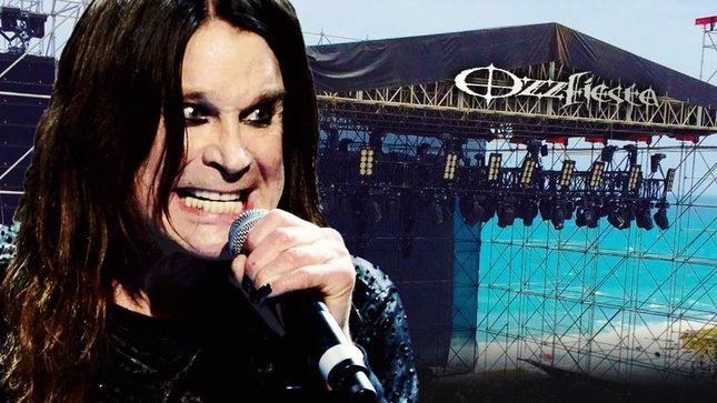 OZZY OSBOURNE - Surgery Scheduled For May; Ozzfiesta Cancelled