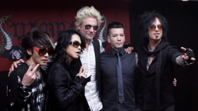 SIXX:A.M. Perform First International Show In Japan; Highlight Video Streaming