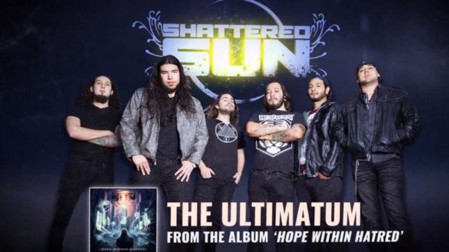 "SHATTERED SUN Release ""The Ultimatum"" Lyric Video"