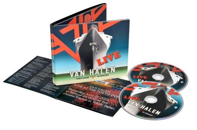 "VAN HALEN - ""Unchained"" From Tokyo Dome Live In Concert Streaming"