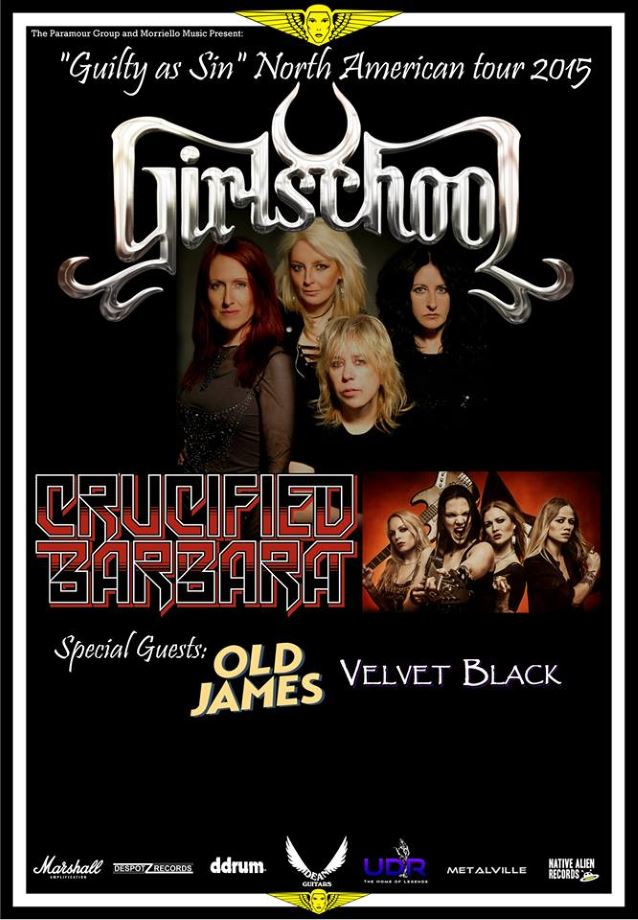 girlschoolustour2015poster