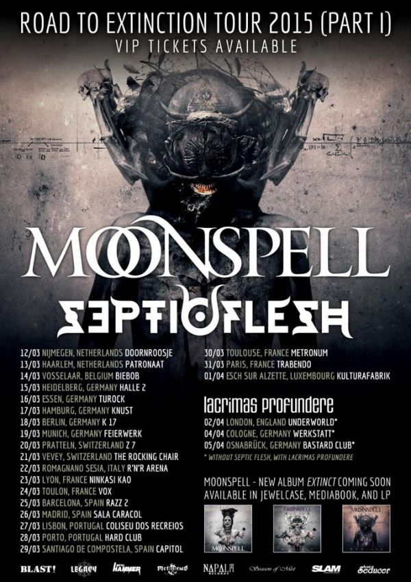 Moonspell Tour
