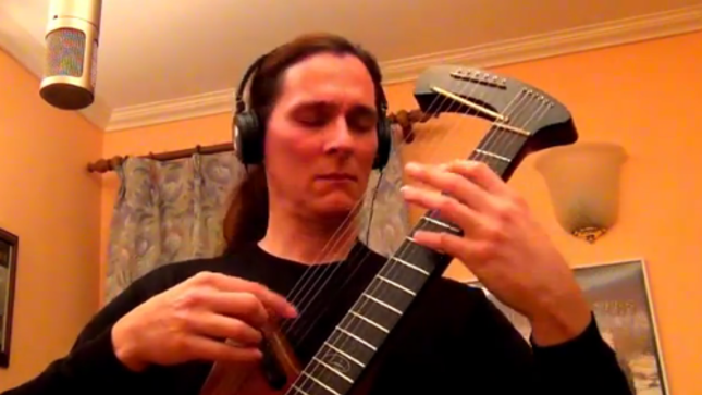 MADMEN & SINNERS Mastermind TIM DONAHUE Posts New Harp Guitar Performance Video