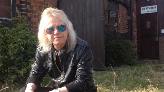 MAGNUM Hit The Studio; Singer BOB CATLEY Issues Video Update