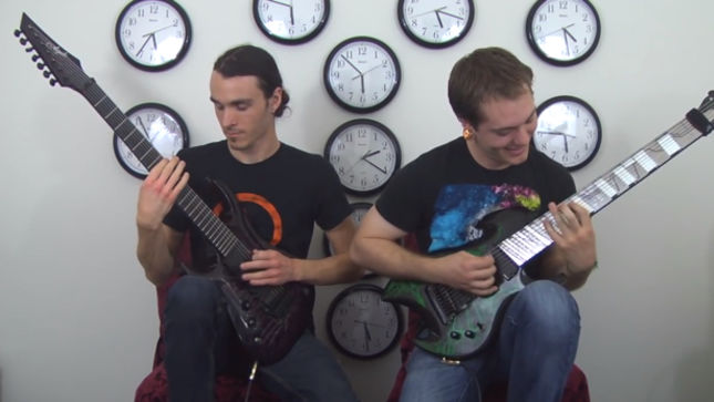 "RINGS OF SATURN Release Dual-Guitarist Playthrough Video For ""Godless Times"""