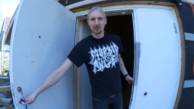HAMMERFALL Upload Rehearsal Footage, Tour Of Castle Black Studios; Video