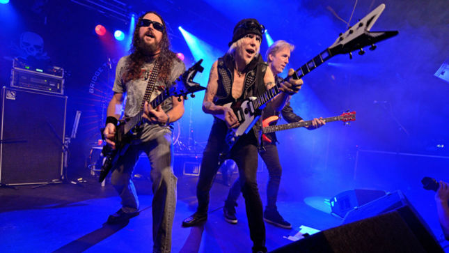 "MICHAEL SCHENKER - ""I Am Working On Making TEMPLE OF ROCK Stand On Its Own Feet; I Like Being With These Guys"""