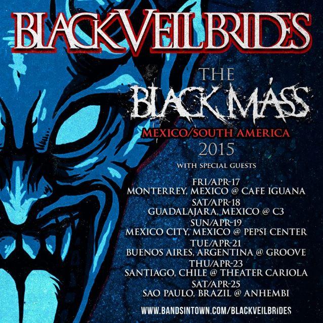 blackveilbridessouthamerica2015poster
