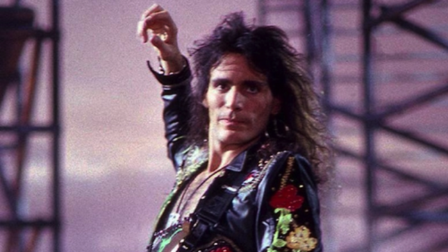 """STEVE VAI - Special Limited Edition Autographed Photo Print From WHITESNAKE's """"Fool For Your Lovin'"""" Video Shoot Available"""