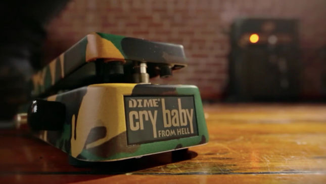 Slash Dimebag Jerry Cantrell Cry Baby Wah Pedals Video
