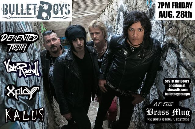 Bulletboys Singer Marq Torien Arrested In Tampa Heavy