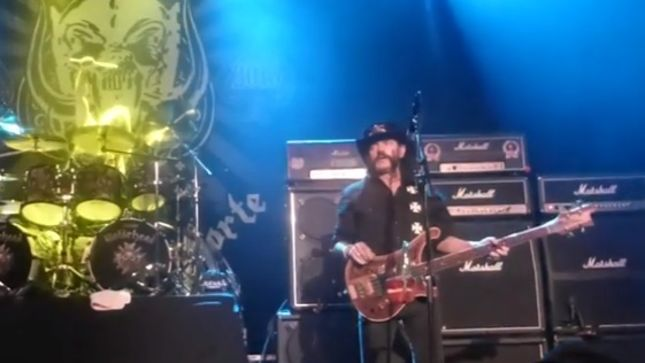 MOTÖRHEAD Cancel Austin Show After Three Songs; Video Available