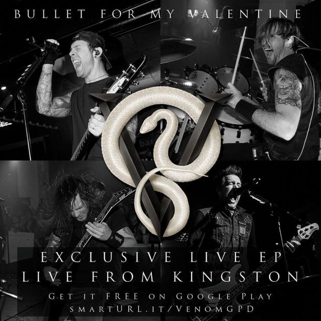 Video Premiere Bullet For My Valentine S Venom Heavy Metal It