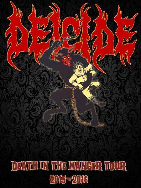 Deicide Announces Death In The Manger U S Tour Heavy