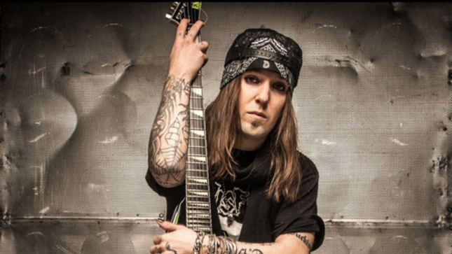 CHILDREN OF BODOM Frontman ALEXI LAIHO Demonstrates Guitar Warm-Up Exercises (Video)