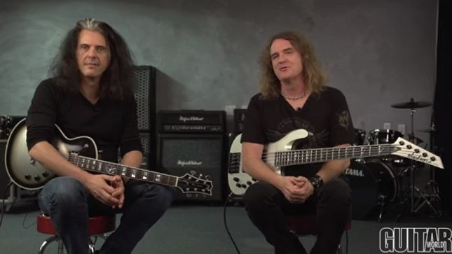 "METAL ALLEGIANCE – TESTAMENT's Alex Skolnick And MEGADETH's Dave Ellefson Streaming ""Can't Kill The Devil"" Playthrough Video"