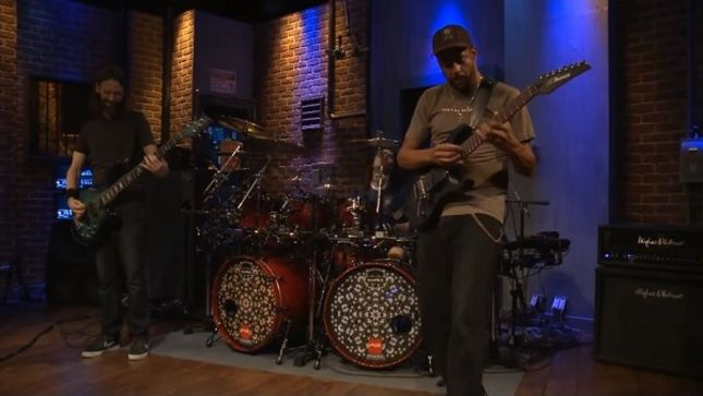 """TONY MACALPINE Performs """"Man In A Metal Cage"""" Live On EMGtv; Video"""